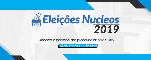 Banner Eleições Nucleos 2019